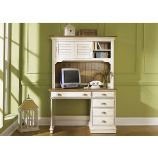 Liberty Ocean Isle Student Desk and Hutch Set