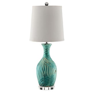 Ormesby Blue Ceramic Table Lamp