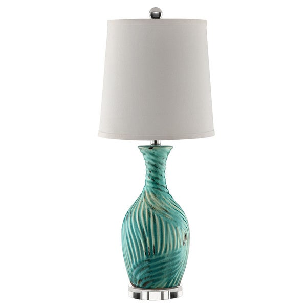 Shop ormesby blue ceramic table lamp free shipping today ormesby blue ceramic table lamp aloadofball Choice Image