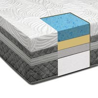 Dreamax 12-Inch Queen-Size Gel Memory Foam Mattress - White