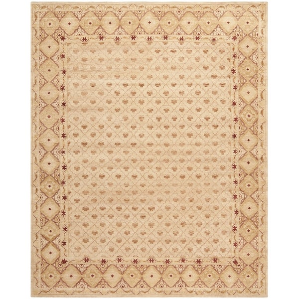 Safavieh Hand-knotted Marrakech Ivory/ Red Wool Rug - 9' x 12'