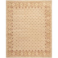 Safavieh Hand-knotted Marrakech Ivory/ Red Wool Rug - 10' x 14'