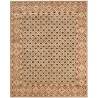 Safavieh Hand-knotted Marrakech Beige/ Red Wool Rug - 9' x 12'