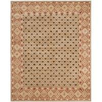 Safavieh Hand-knotted Marrakech Beige/ Red Wool Rug - 10' x 14'