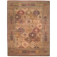 Safavieh Hand-knotted Lavar Multi/ Rust Wool Rug (9' x 12')
