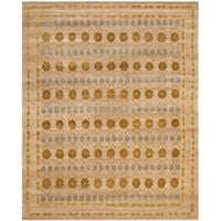 Safavieh Hand-knotted Marrakech Gold/ Light Blue Wool Rug - 9' x 12'