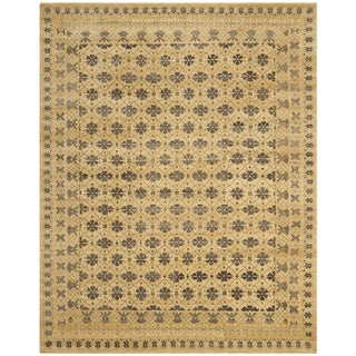 Safavieh Hand-knotted Marrakech Ivory/ Blue Wool Rug (9' x 12')