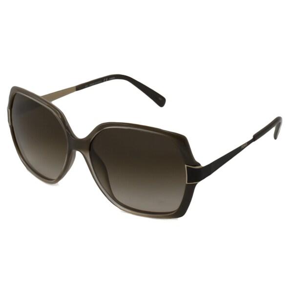 Fendi Women's FS5330 Rectangular Sunglasses