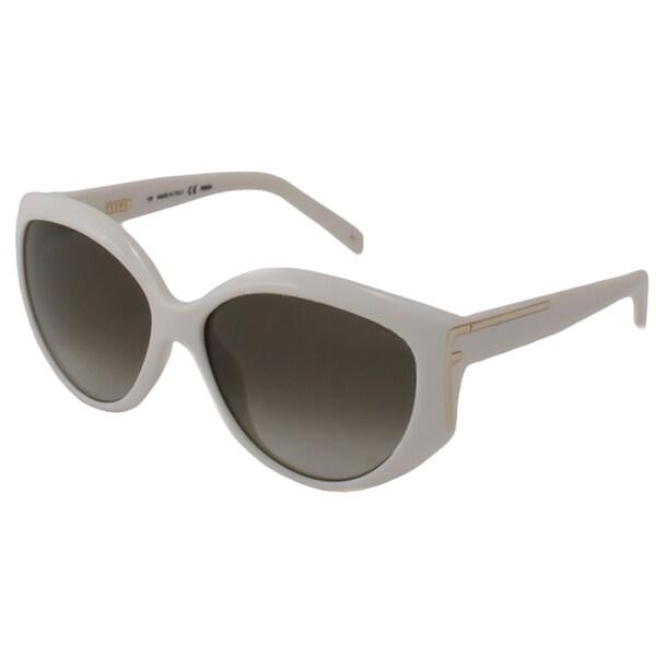 0988c77dfe Shop Fendi Women s FS5328 Aviator Sunglasses - Free Shipping Today ...
