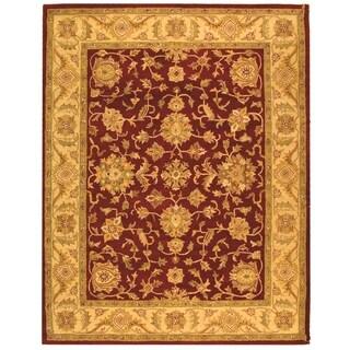 Safavieh Handmade Antiquity Red/ Gold Wool Rug - 11' x 17'