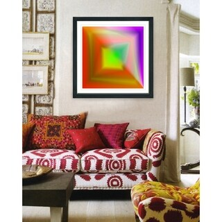Studio Works Modern 'Color Burn Series' Framed Fine Art Giclee Print (More options available)