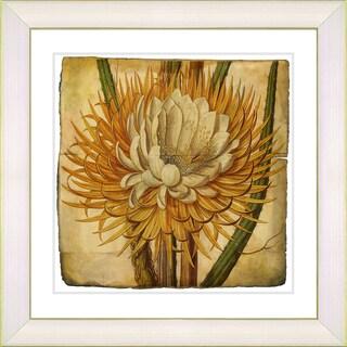 Zhee Singer 'Vintage Botanical No 015 - Antiqued' Framed Fine Art Print