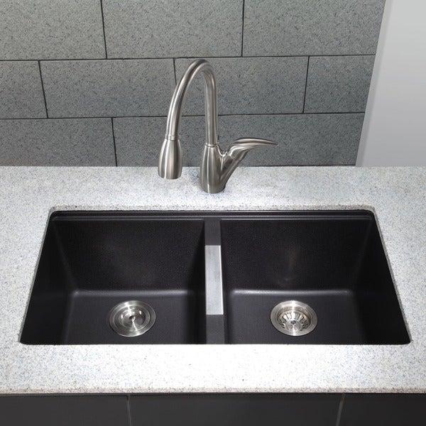 Beautiful Kitchen Sink Black Contemporary Kitchen design ideas