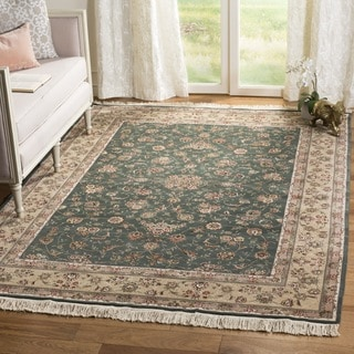 Safavieh Hand-knotted Tabriz Floral Multi Wool/ Silk Rug (10' x 14')