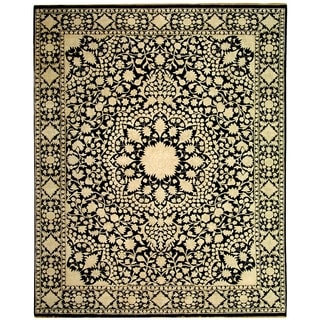 Safavieh Couture Hand-knotted Ganges River Nikia Traditional Oriental Wool Rug with Fringe