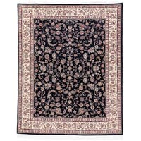 Safavieh Hand-knotted Tabriz Floral Multi Wool/ Silk Rug - floral multi - 8' x 10'