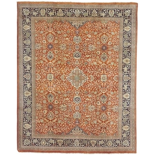 Safavieh Couture Hand-knotted Farahan Sarouk Kristal Traditional Oriental Wool Rug with Fringe