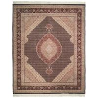 Safavieh Hand-knotted Tabriz Herati Multi Wool/ Silk Rug - 8' x 10'