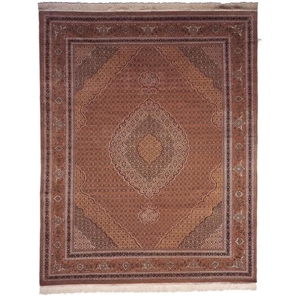 Safavieh Hand-knotted Tabriz Herati Multi Wool/ Silk Rug (10' x 14')