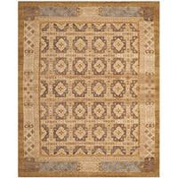 Safavieh Hand-knotted Marrakech Gold/ Light Blue Wool Rug - 8' x 10'