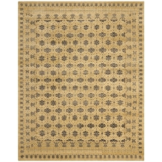 Safavieh Hand-knotted Marrakech Ivory/ Blue Wool Rug (8' x 10')