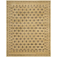Safavieh Hand-knotted Marrakech Ivory/ Blue Wool Rug - 8' x 10'