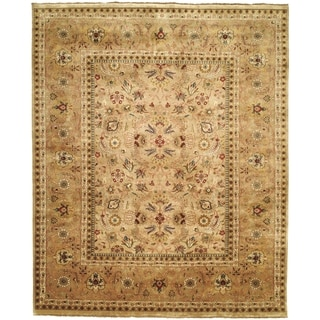 Safavieh Couture Hand-knotted Farahan Sarouk Stephenie Traditional Oriental Wool Rug with Fringe