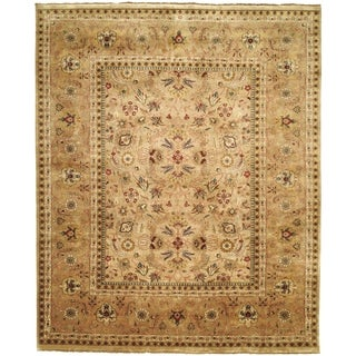 Safavieh Hand-knotted Farahan Sarouk Ivory/ Gold Wool Rug (9' x 12')