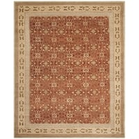 Safavieh Hand-knotted Marrakech Rose/ Ivory Wool Rug - 8' x 10'