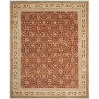 Safavieh Hand-knotted Marrakech Rose/ Ivory Wool Rug - 6' x 9'
