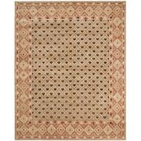 Safavieh Hand-knotted Marrakech Beige/ Red Wool Rug - 6' x 9'
