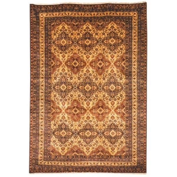 Safavieh Hand-knotted Lavar Multi Wool Rug (6' x 9')
