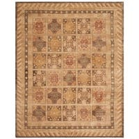 Safavieh Hand-knotted Marrakech Gold/ Tan Wool Rug - 6' x 9'