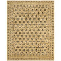 Safavieh Hand-knotted Marrakech Ivory/ Blue Wool Rug - 6' x 9'