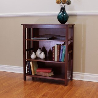 DonnieAnn Hollydale Chestnut Wood 36-inch Bookcase
