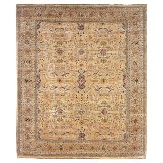 Safavieh Hand-knotted Farahan Sarouk Ivory/ Gold Wool Rug (8' x 10')