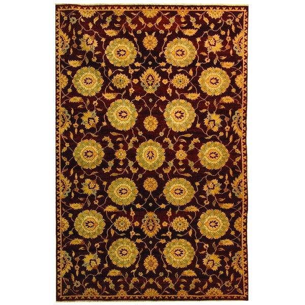 Safavieh Hand-knotted Samarkand Multi Wool Rug - 8' x 10'