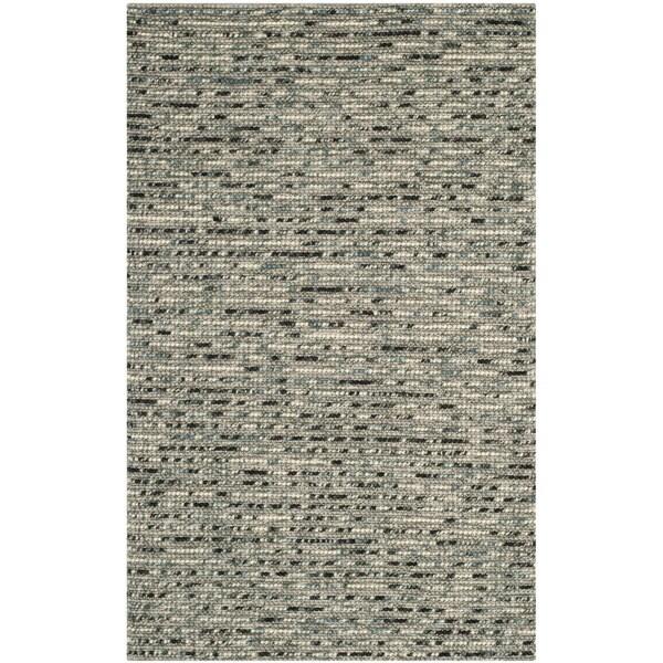 Safavieh Hand-woven Bohemian Grey/ Multi Wool/ Jute Rug - 10' x 14'
