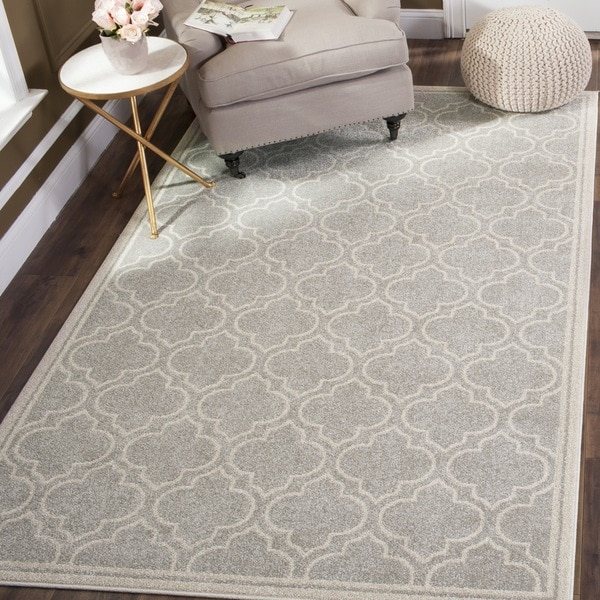 Safavieh Amherst Light Grey/ Ivory Rug (9u0026#x27; ...