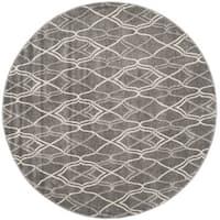 Safavieh Amherst Grey/ Light Grey Rug - 7' Round