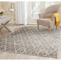 Safavieh Amherst Grey/ Light Grey Rug - 7' x 7' Square