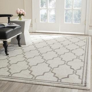 Safavieh Amherst Ivory/ Grey Rug (7' Square)