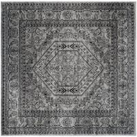 Safavieh Adirondack Vintage Silver/ Black Rug - 8' Square