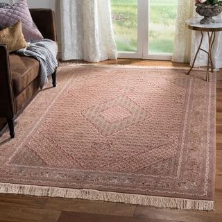 Safavieh Hand-knotted Tabriz Herati Multi Wool/ Silk Rug (6' x 9')