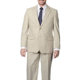 Palm Beach Men's Oyster 2-button Suit
