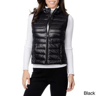 Women's 'Leonardo' Down-filled Vest|https://ak1.ostkcdn.com/images/products/8861713/Nuage-Womens-Leonardo-Down-filled-Vest-P16088858.jpg?impolicy=medium