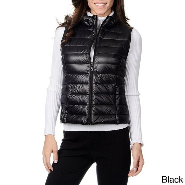 e2224ed4ff2 Shop Women's 'Leonardo' Down-filled Vest - Free Shipping Today ...