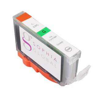 Sophia Global Compatible Ink Cartridge Replacement for Canon BCI-3 (1 Green)