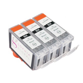 Sophia Global Compatible Ink Cartridge Replacement for Canon BCI-3e (3 Black)