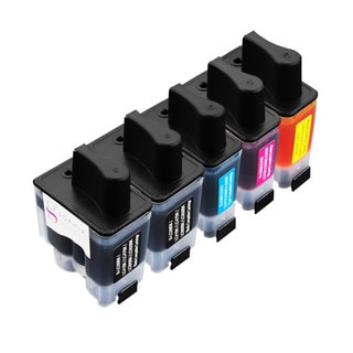 Sophia Global Compatible Ink Cartridge Replacement for Brother LC41 (2 Black, 1 Cyan, 1 Magenta, 1 Yellow)